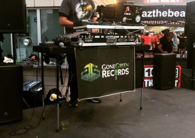 DJ Eagle One & Gone Green Records Stage AZ Hip Hop Festival