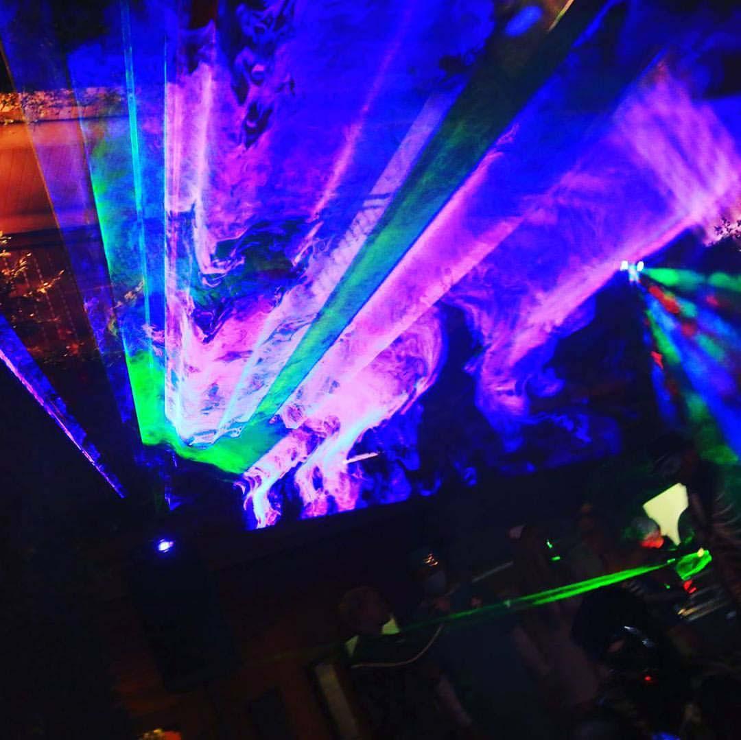 Laser Night Sky